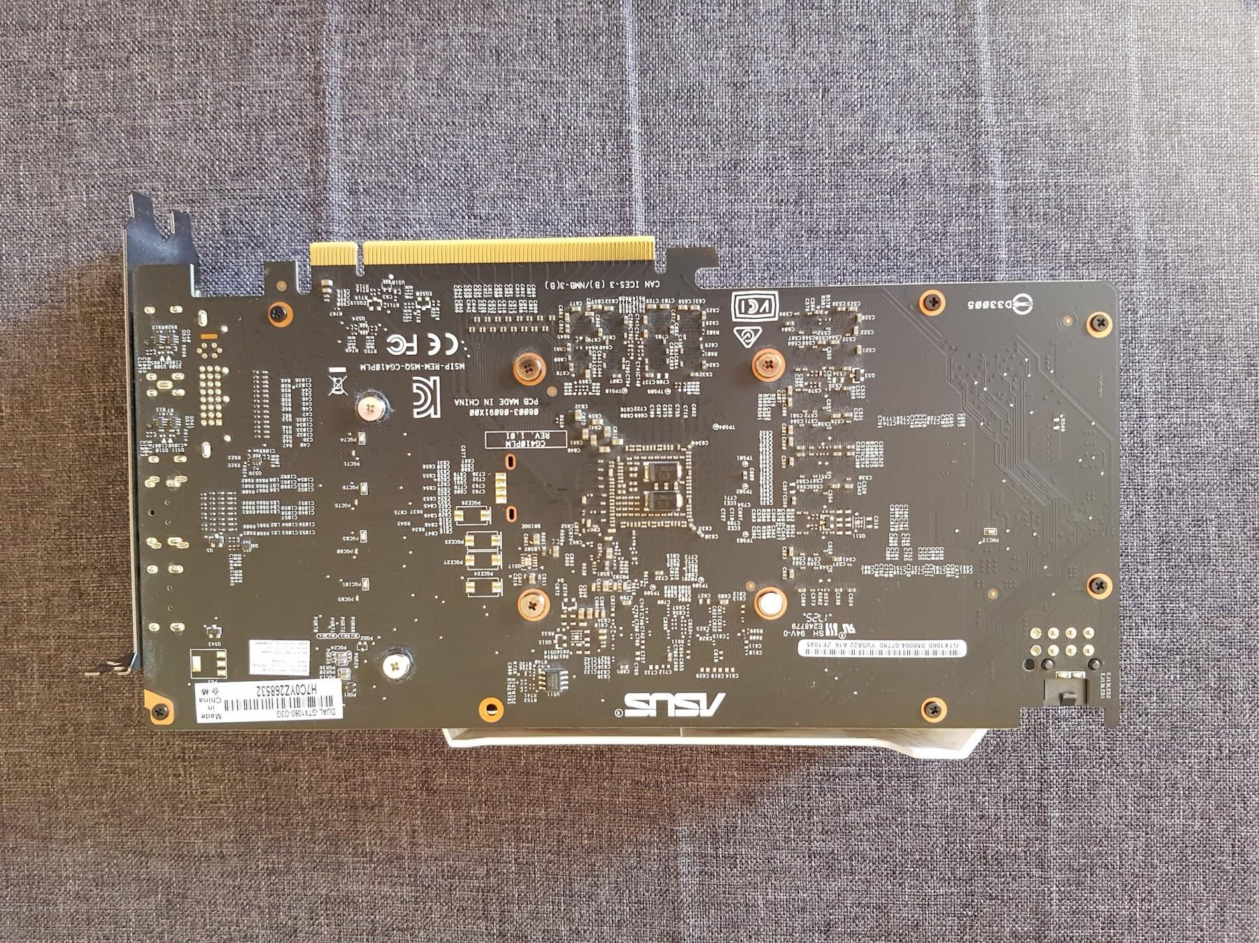 Asus GTX 1060 3GB OC Dual (69737649) - Limundo com