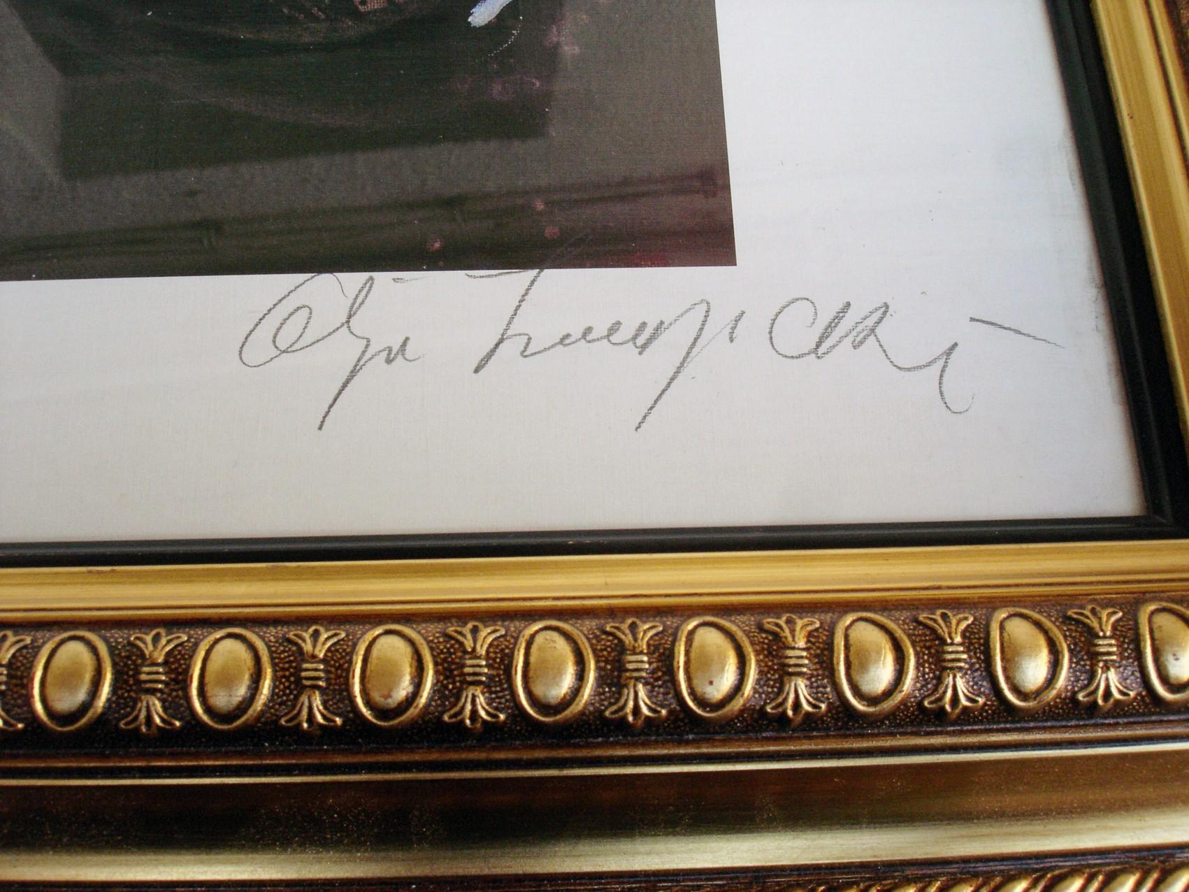 Olja Ivanjicki Originalan Potpis 78 X 60 Cm