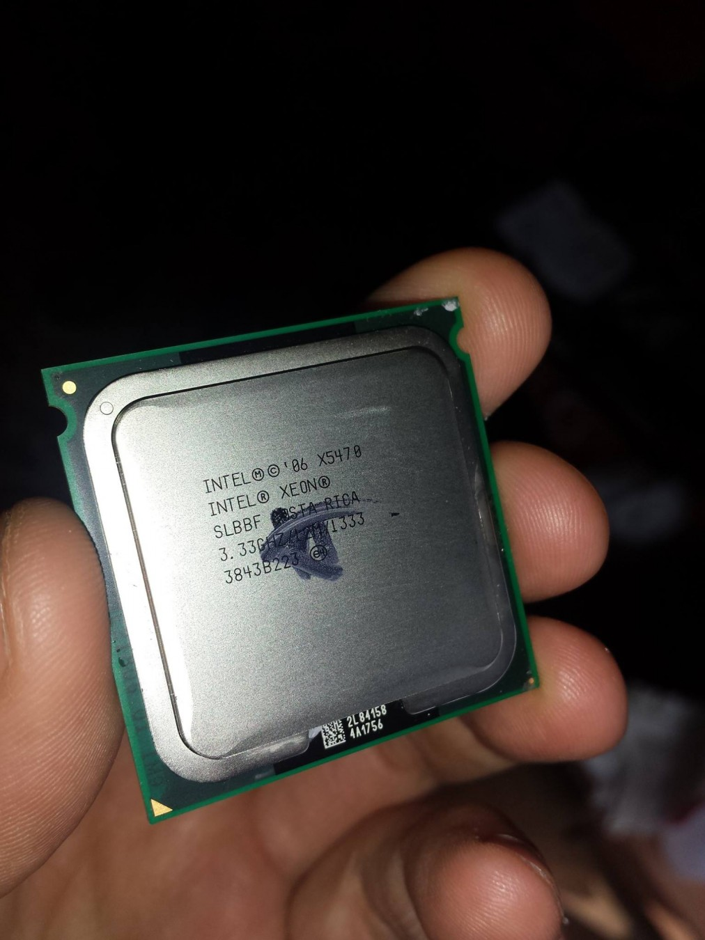 Xeon X5470 + Biostar TPower I45,771-775 mod, 5Ghz, HIT