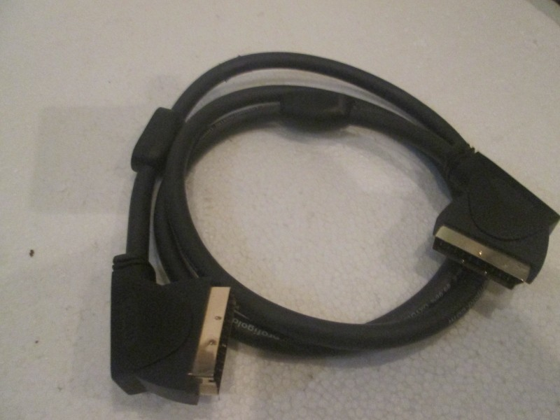 profigold scart interconnect cable