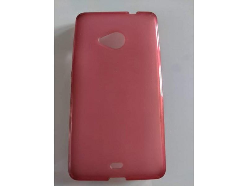 Roze maska nokia lumia 535