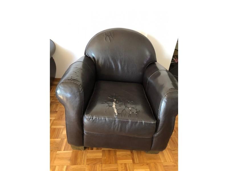 SIMPO Ugaona Garnitura i fotelja