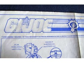 GI JOE uputstvo za Cobra Invader 1993.
