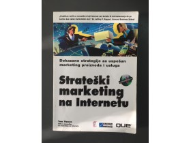 # STRATEŠKI MARKETING NA INTERNETU - TOM VASSOS #