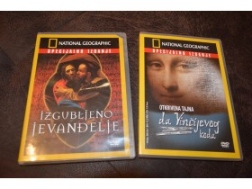 2 - National Geographic DVD  spec. Izdanja (2 komada)