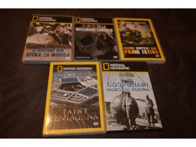 6 - National Geographic DVD  (5 komada)