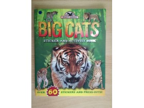 ALBUM STIKERA-BIG CATS