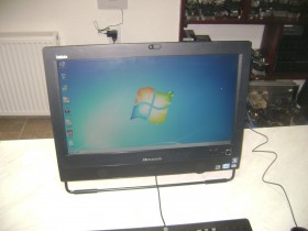 All in one Lenovo i3 2120 3300mhz,4gb ddr3,500hdd 20 in