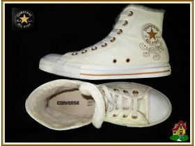 CONVERSE ALL STAR nove kožne tople strake original*TOP*