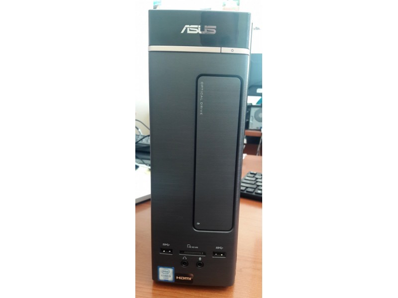 Desktop PC Asus + Monitor HP V214a