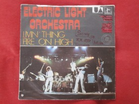 Electric Light Orchestra singl Living Thing