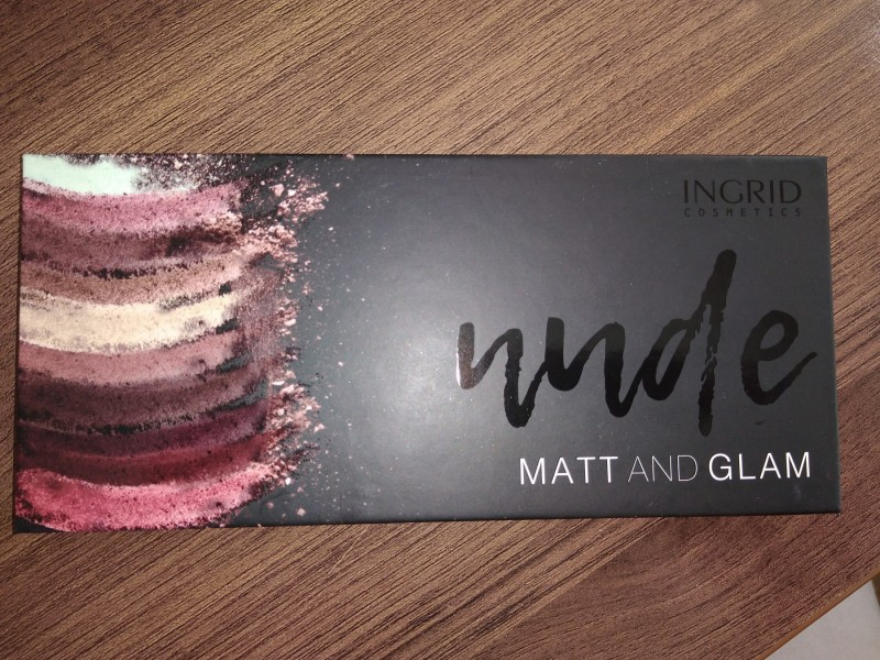 ***INGRID*** NUDE MATT AND GLAM PALETA SENKI, NOVO