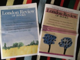 LONDON REVIEW OF BOOKS, 2 broja