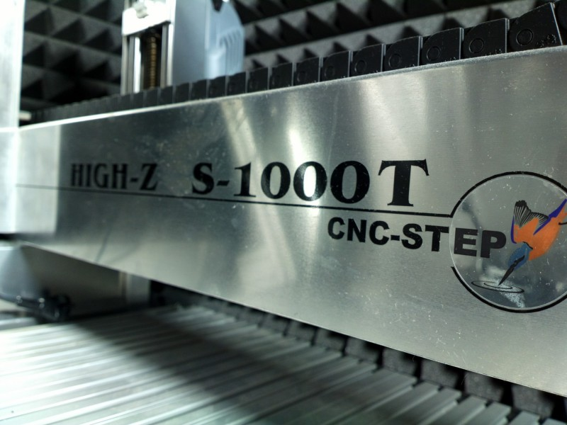 *MEGA* CNC-STEP HIGH-Z S-1000T 3D CNC Router GERMANY!