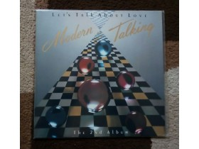 MODERN TALKING - THE 2nd ALBUM LET`S TALK ABOUT LO