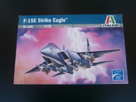Maketa F-15E Strike Eagle, 1/72, Italeri