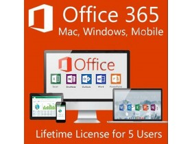 Microsoft Office 365 5TB Life Time