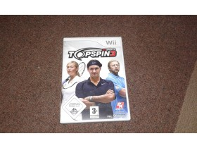Nintendo Wii igrica TopSpin3