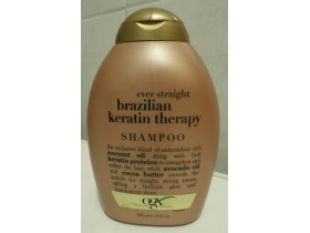 OGX šampon Ever Straight Brazilian Keratin Therapy
