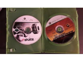 Skate i NFS Undercover Xbox 360 PAL
