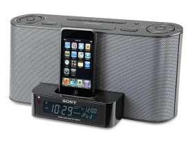 Sony Clock radio with built-in iPod/iPhone dock