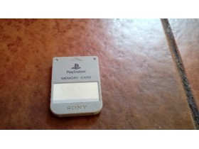 Sony Playstation Memory Card Original memoriska