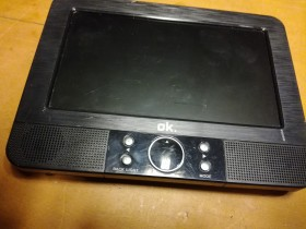 portable dvd player ok 7inch