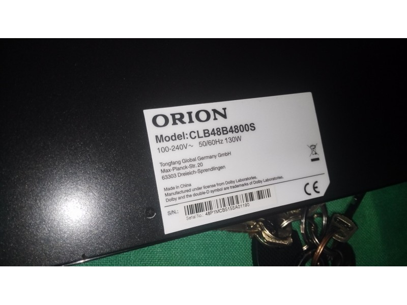 3.Full HD led Tv ORION 48 incha Top Ponuda !!!!