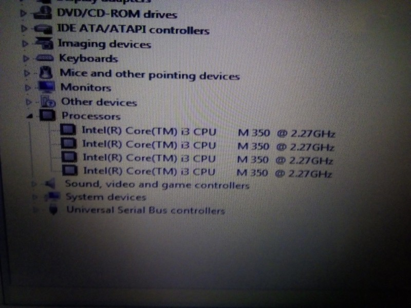 ACER 5741g / i3 QUAD/ 6GB RAM / 640GB HDD /1GB Grafika/