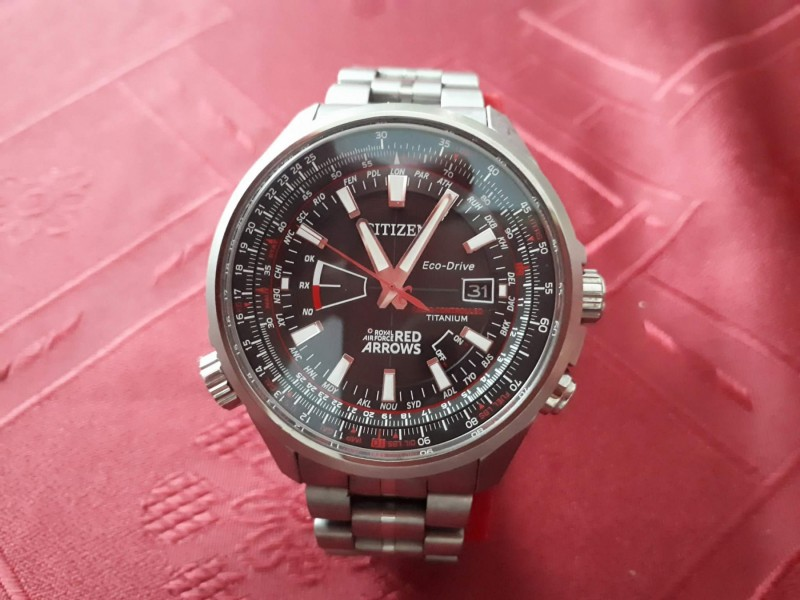 CITIZEN TITANIUM LIMITED EDITION