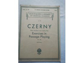 CZERNY Exsercises in Passage - Playing