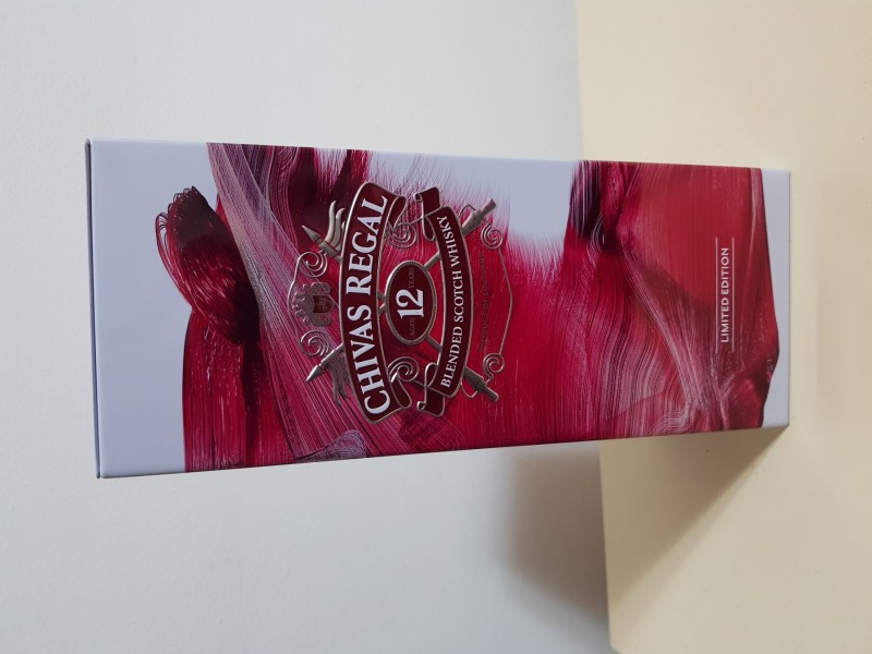 Chivas regal metalna kutija limited edition