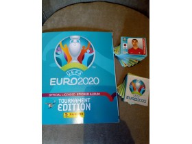 EURO 2020 TOURNAMENT EDITION PANINI KOMPLETAN SET I