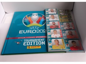 EURO 2020 TOURNAMENT EDITION kompletan set + HC album