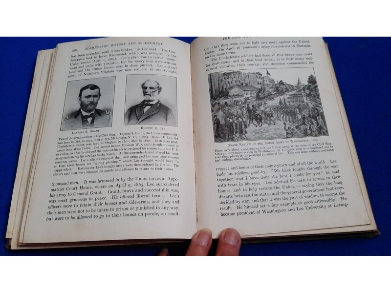 Elementary American history and government 1923