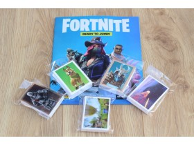 FORTNITE panini kompletan set i album novoo