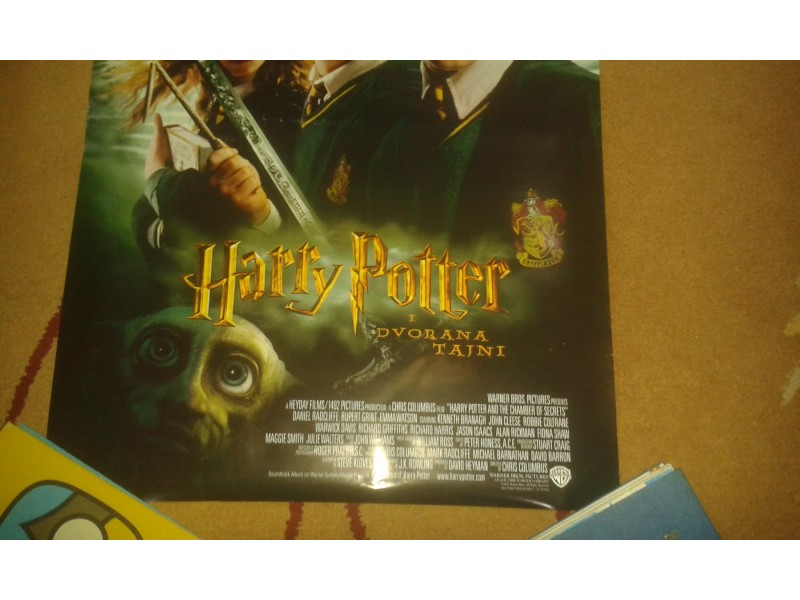 Filmski plakat:Harry Potter.....
