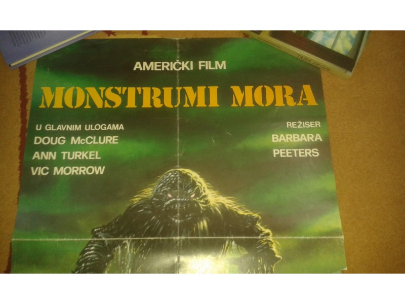 Filmski plakat:Monstrumi Mora...1980god