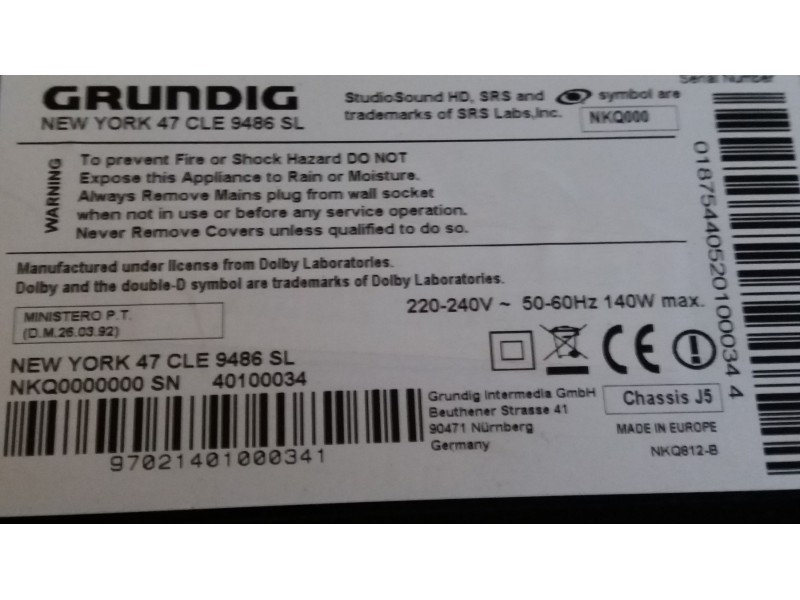 Full HD led Smart Grundig 47 incha Top Ponuda !!!