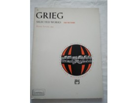 GRIEG Selected works for the piano