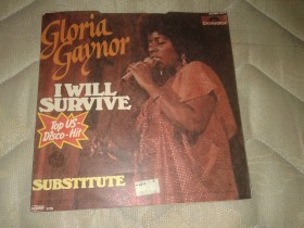 Gloria Gaynor- I will survive- singl
