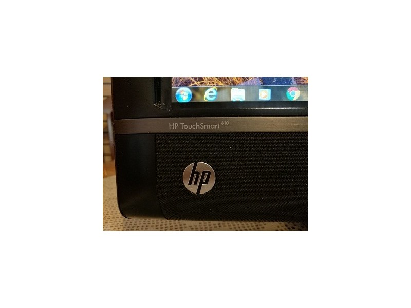 HP TouchSmart 610-1000uk - Core i3 550 3.2 GHz - 4 GB