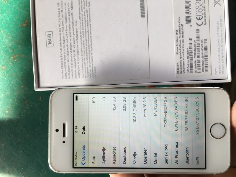 IPHONE 5s FULL STANJE RASPRODAJA