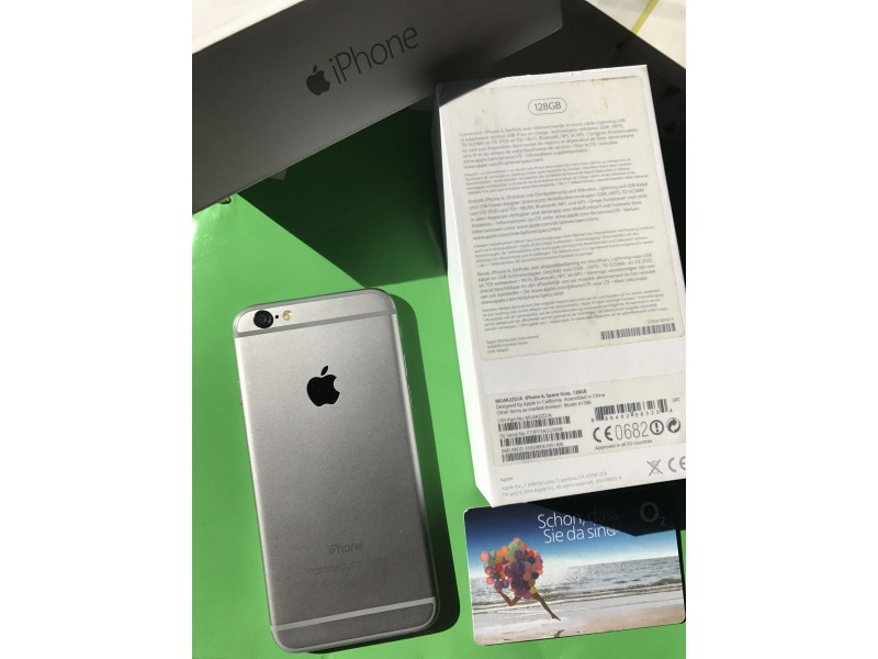 IPHONE 6 ***Kupljen u Nemackoj SIM free 128 GB