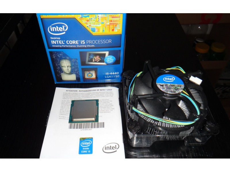 Intel i5 4440 [6M keš, 3.1 do 3.3GHz] LGA1150