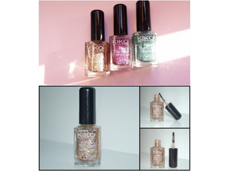 KIKO Fancy Top Coat - 658 Oro Rosa