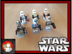 Knockoff LEGO set Star Wars Troopers (STAR WARS)