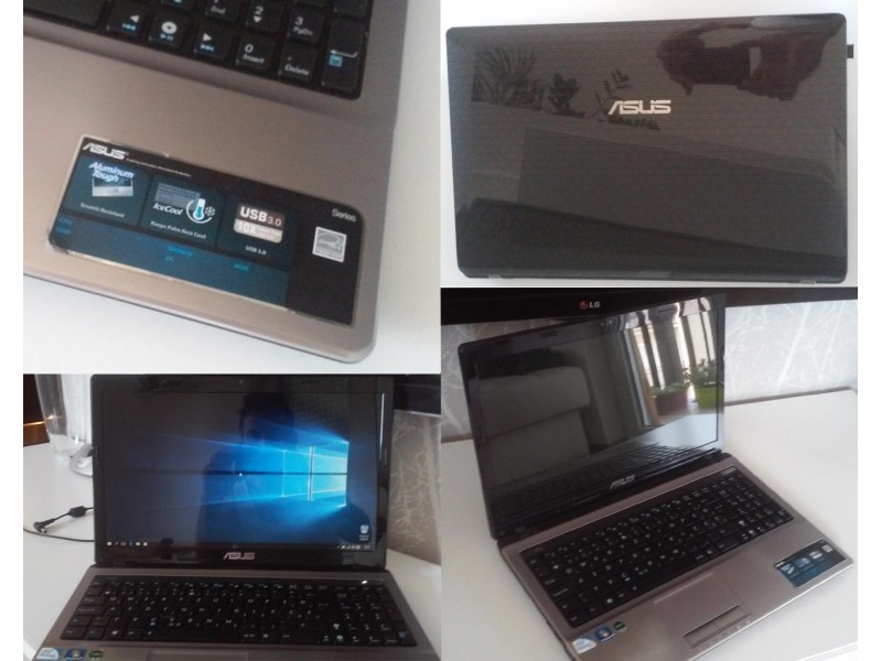LAPTOP ASUS K53E + WINDOWS 10
