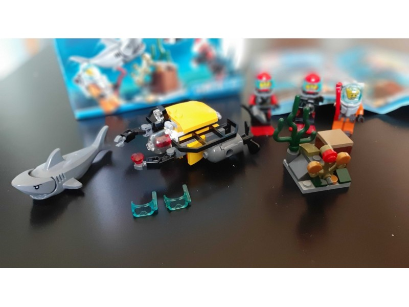 LEGO - Deep Sea Starter Set - 2015 (60091)