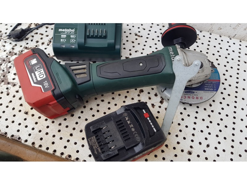 METABO W 18 LTX 125 Quick AKU BRUSILICA